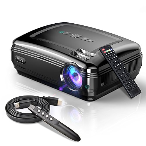 Video Beamer,FUJSU 3300 Lumens Full HD 5.8