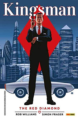 Kingsman: the red diamond editado por Panini / marvel