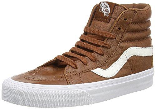 Vans U Sk8-hi Reissue Leather, Unisex-Erwachsene Sneakers Braun