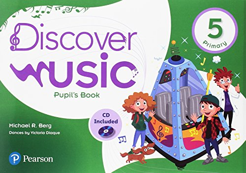 Discover Music 5 Pupil's Book Pack por Michael R. Berg