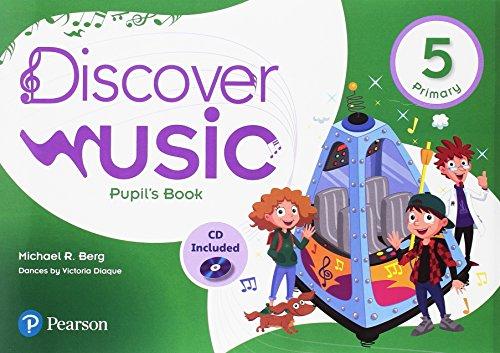 Discover Music 5 Pupil's Book Pack (Descubre la música)