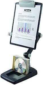 Fellowes Flex Arm Copyholder Weighted Base Copy Holder Graphite Bürobedarf Schreibwaren