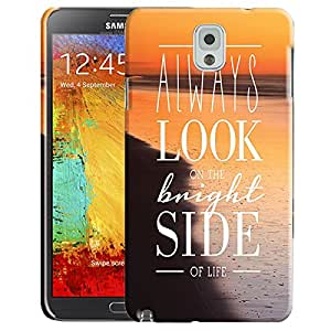 Theskinmantra Bright Side Back Cover for Samsung Galaxy Note 3