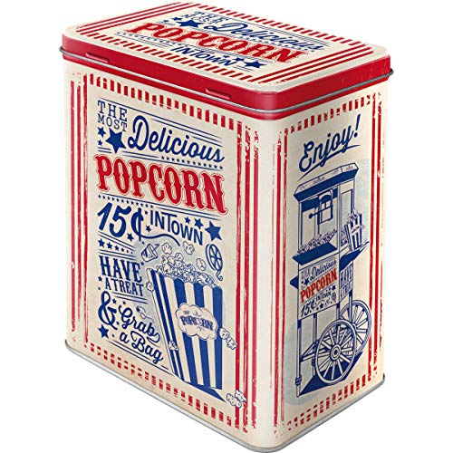 Nostalgic-Art 30144 USA - Popcorn, Vorratsdose L