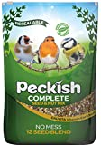 Peckish Complete Seed and Nut No Mess Wild Bird Food Mix, 12.75 kg