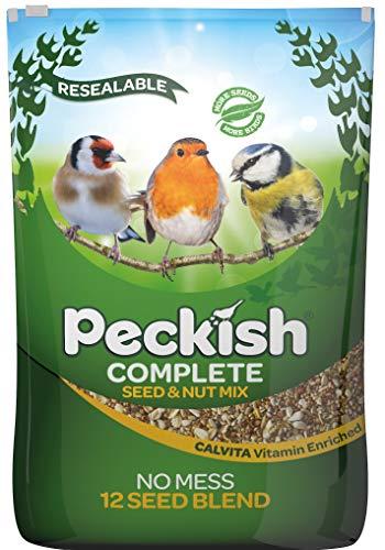Peckish - Mélange complet de graines - Pour oiseaux sauvages - Toutes saisons - 12,75 kg Mélange de graines de 12,75 kg 12.75 kg