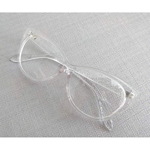 KCJKXC Vintage Damen Brillen Auge Klar Brillengestell Marke Design Brillen Frauen Brillenfassungen Optisches Schauspiel