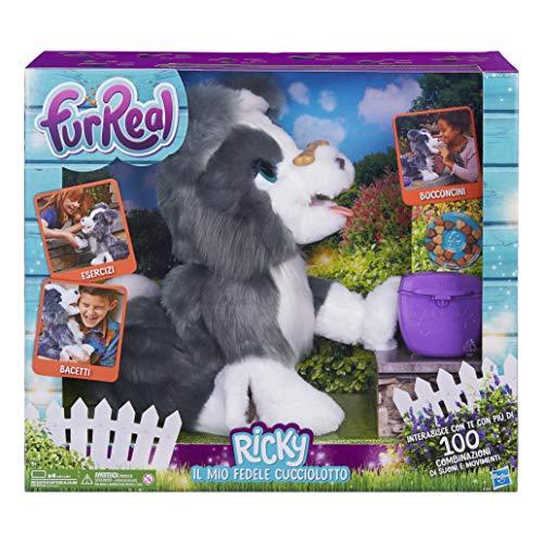 Hasbro FurReal Ricky, Il Mio Fedele cucciolotto,...