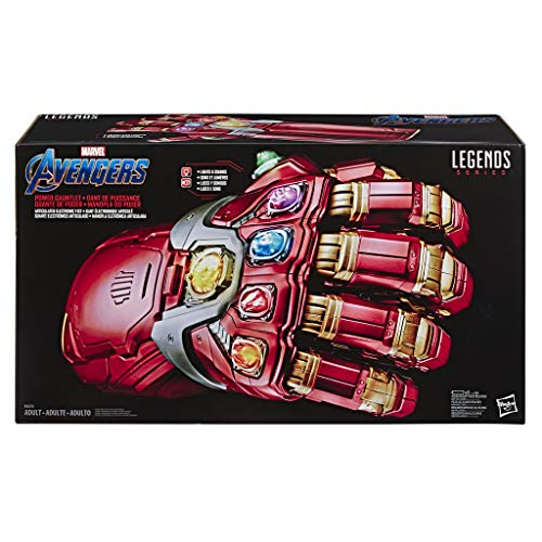 Hasbro Avengers E6253EU4 Marvel Legends Power Handschuh, Verkleidung