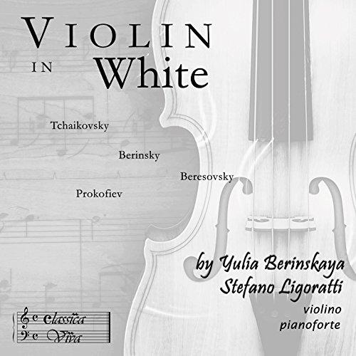Violin in White