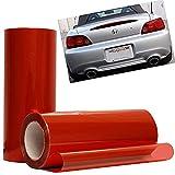 VOYAGE Scheinwerfer tönungsfolie Auto Folie Rückleuchten Nebelscheinwerfer Aufkleber (Rot)