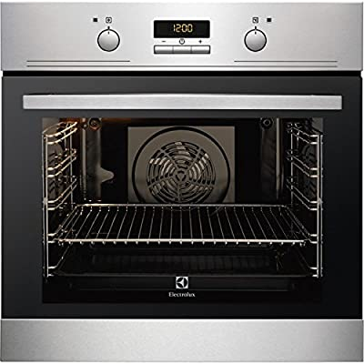 Electrolux EEB4233POX Electric oven 74L 2780W A Negro, Acero inoxidable - Horno (Grande, Electric oven, 74 L, 2780 W, 74 L, 2780 W)