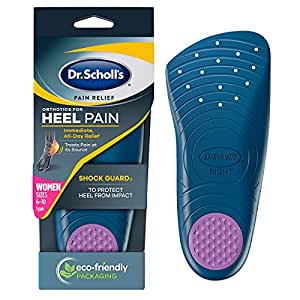 Dr. Scholls Pain Relief Orthotics for Heel for Women, 1 Pair, Size 5-12