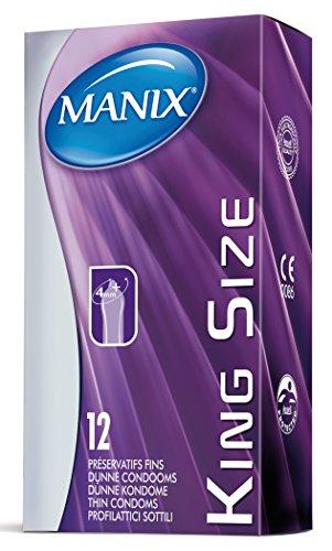 MANIX King Size 1er Pack(1 x 12 Stück)
