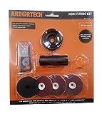 Arbortech Mini-Turbo-Kit (M5) für den Winkelschleifer - verbesserte Version