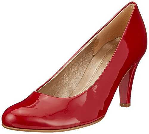 Gabor Shoes Damen Basic Pumps, Rot (Cherry), 38 EU