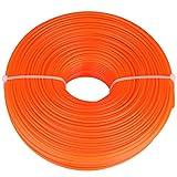 Zerodis Trimmer rotondo del cavo della benzina della stringa del filo di nylon del cavo di nylon della linea del regolatore di 2.4mm(120m)