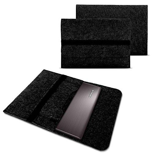 Lenovo Yoga 900 900S 910 510 520 710 720 Tasche Hülle Filz Sleeve Case Cover Bag, Farben:Dunkel Grau