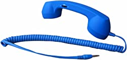 Demarkt Retro Telefonhörer Lautsprecher Handset Mikrofon Hörer Headsets für Smartphones und Handys Tablet PC,für iPhone...