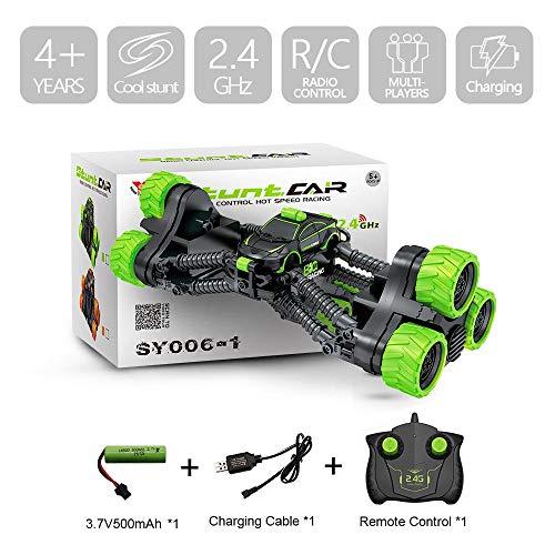 4WD Elektro RC Car Rock Crawler Fernbedienung Spielzeug-Autos Off-Road Radio Radio Controlled Antrieb Spielzeug Für Junge Kinder Suprise Geschenk Green