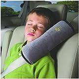 SMARTLADY Bebé Niños Almohada de Correa de Seguridad de Coche Cinturon de seguridad Protección del Hombro, Gris