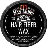 Man Arden Hair Fiber Wax - Strong Hold with Gloss Finish, 50g