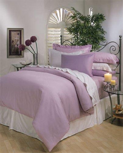 Ägyptische Betten 1000-thread-count Ägyptische Baumwolle Set Bettbezug und 2Kissenbezüge, King, Lavendel massivem 1000TC -