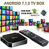 SMART TV Box X96 Mini Android 7.1 4K 4GB RAM 32GB ROM IPTV + Fernbedienung