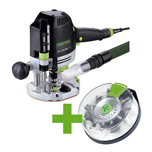 FESTOOL 574398 Oberfräse OF 1400 OF 1400 EBQ-Plus + Box-OF-S 8/10x HW