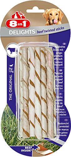 8in1 Delights Twisted Sticks Manzo 20 pezzi