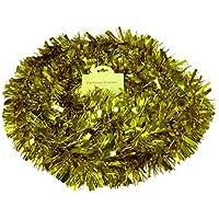 Chunky / Fine Oropel de Navidad - 3 Metros Longitud - Decoración de Navidad (oro)