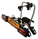 Witter Towbars ZX302 Supporto Porta Bici da Viaggio da Montare al Veicolo, scoparti per 2 Biciclette