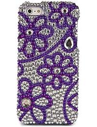 Haute Qualité strass cristal de diamant Etui rigide pour iphone 5