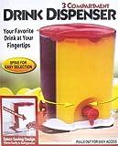 Getränkespender 3 Fach Lagerung, mit Spezialfunktion als Spins & Slides für einfache Auswahl