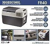 Mobicool FR40 AC/DC Frigo a Compressore, 12/220v, 40 litri circa