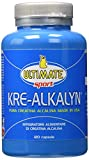 Ultimate Italia - Kre-Alkalyn - Carica i muscoli con la creatina made in USA - 120 capsule