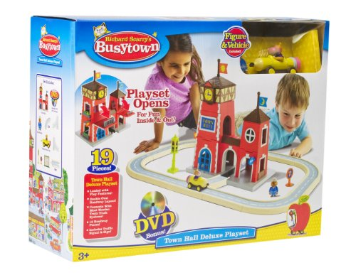 Busytown Town Hall Play Set