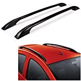 #9: GOLSM Car Drill Free Roof Rails Black For Ford Figo Aspire - (All Years)