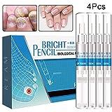 HI5 4 Pcs 3ml Nail Fungal Treatment Anti Fungus Toenail Fingernail Nails Repair