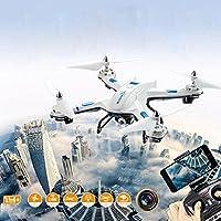RC Quadcopter con WiFi HD cámara S5RC helicóptero Warrior Drone Quadcopter 2.4GHz 4CH 6Axis 2MP HD cámara WIFI, Weiß, 33 * 33 * 9cm