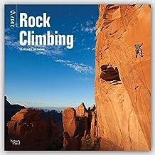 Rock Climbing 2017 Square Wall Calendar