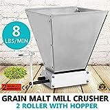 S SMAUTOP Trituradora de Malta Molinillo de Grano para Granos de Cebada