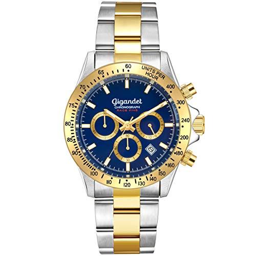 Gigandet Race King Herren Armbanduhr Quarz mit Edelstahlarmband G33-004 - Replica Watches Invicta