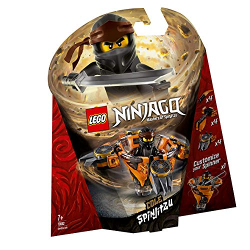 LEGO Ninjago Spinjitzu Cole Building Blocks for Kids (117 Pcs)70662