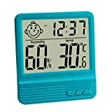GuDoQi Elektronisches Digitales Nasses Thermometer Indoor Hause Desktop Thermometer Babyzimmer...