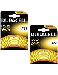 Duracell 2x AG4377SR626SW SB-AW Pile oxyde d'argent pour montre 1,55V