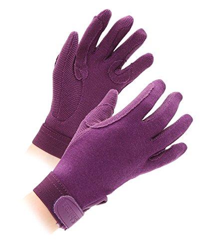 Shires Newbury Kinderhandschuhe Violett violett S Age 3-4