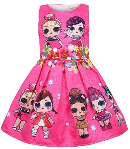Socluer Bambole Sorpresa Bambine Abiti Gonna da Principessa Abiti da Sera  Buoni Regalo Natale per Le Ragazze 24e5aa0f4e3