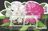 Prophila Collection Kanada Block110 (kompl.Ausg.) 2009 Rhododendren (Briefmarken für Sammler) Pflanzen