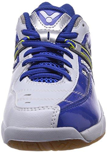 VICTOR 820 VICTOR EC-8200 white, Scarpe sportive unisex adulto Blu (blu/blu)